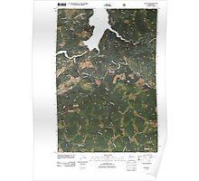 USGS Topo Map Washington State WA Yale Dam 20110503 TM Poster