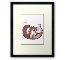 Playin' Ya'self Framed Print