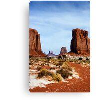 Desert Monoliths Canvas Print