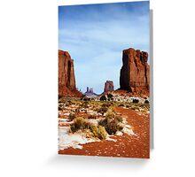 Desert Monoliths Greeting Card