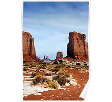 Desert Monoliths Poster