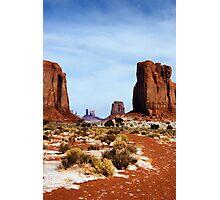 Desert Monoliths Photographic Print