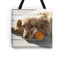 Jessie In The Morning Sunshine Tote Bag