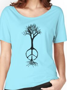 Hope rooted in peace Women's Relaxed Fit T-Shirt