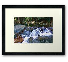 cedar creek  ... Framed Print