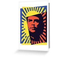 Che (Burst) Greeting Card