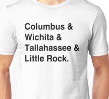 Zombieland Characters [Black Text] Unisex T-Shirt