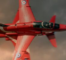 Red Arrows - Opposition Pass Sticker