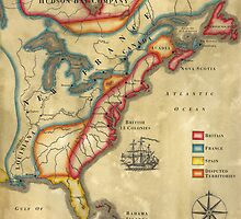 North America 1755 by wonder-webb