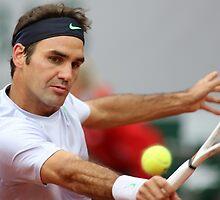 Roger Federer by Srdjan Petrovic