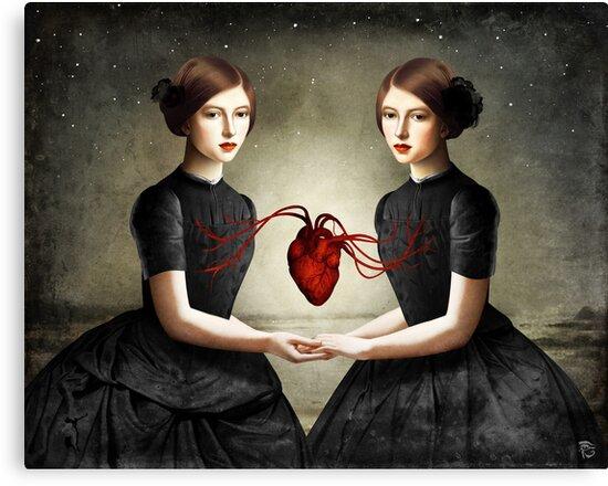 Twin Heart by ChristianSchloe