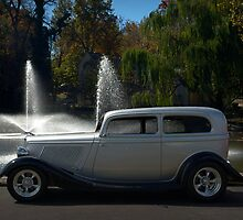 1933 Ford Sedan Hot Rod by TeeMack