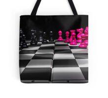 Chess Board Tote Bag