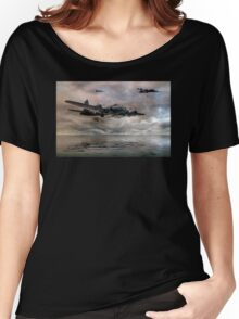 B-17 Flying Fortress - Almost Home Women's Relaxed Fit T-Shirt