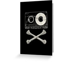 Pirate Music Greeting Card