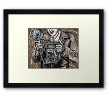 The Camera King Framed Print