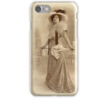 Vintage Fashion 1 iPhone Case iPhone Case/Skin