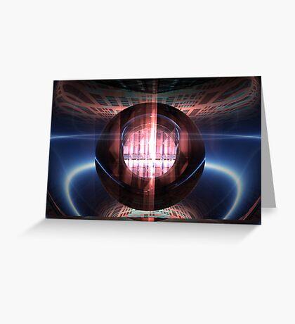 Event Horizon Greeting Card