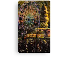 Once Upon A Mid-Summer's Night Canvas Print