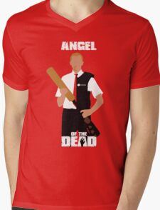 Angel of the Dead Mens V-Neck T-Shirt