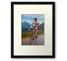 Joop Zoetemelk Painting Framed Print