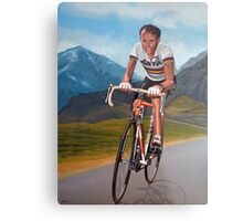 Joop Zoetemelk Painting Metal Print