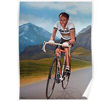 Joop Zoetemelk Painting Poster