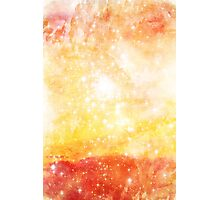 Abstract Watercolor Space Photographic Print