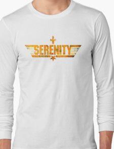 Top Serenity (Orange-Gold) Long Sleeve T-Shirt