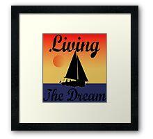 Dream Boat ... Framed Print