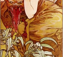 Mucha and Motoko Sticker