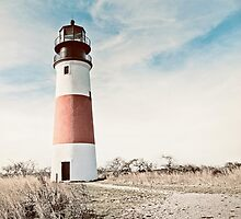 Sankaty Head Lighthouse on the island of Nantucket MA by Marianne Campolongo