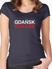 GDAŃSK Women's Fitted Scoop T-Shirt