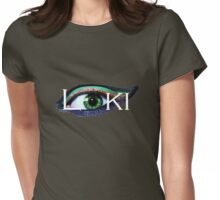 Loki's watching YOU Womens Fitted T-Shirt