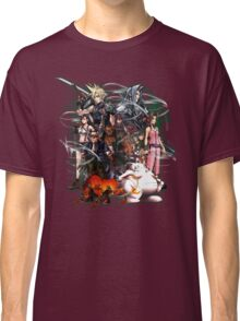 Final Fantasy VII - Collage Classic T-Shirt