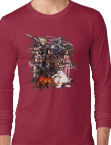 Final Fantasy VII - Collage Long Sleeve T-Shirt