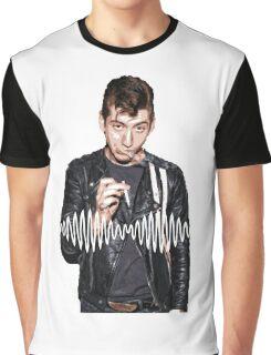 Alex Turner - Tribute To Arctic Monkeys  Graphic T-Shirt