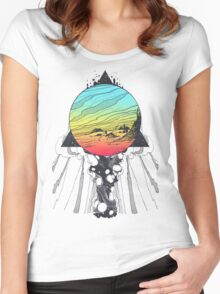 Filtering Reality Women's Fitted Scoop T-Shirt