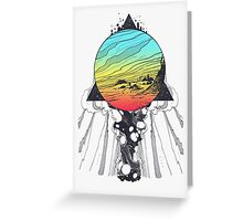 Filtering Reality Greeting Card