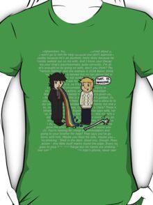 Sherlock's techno babble T-Shirt