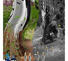 toy robots  Photographic Print