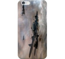 B-17 Flying Fortress - Almost Home 2 iPhone Case/Skin