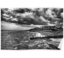 Stormy Southwold Poster