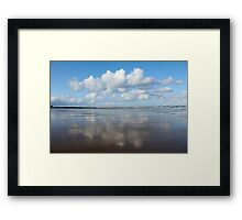 Clouds over the Pacific Framed Print