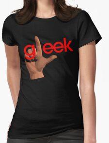 Gleek Womens Fitted T-Shirt