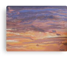 Purple Sunrise over Guana Bay Canvas Print