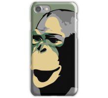 Retro Zoo Berlin monkey travel advertising iPhone Case/Skin