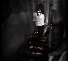 Uncertain steps ii by Nicola Smith