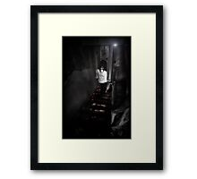 Uncertain steps ii Framed Print