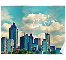 Welcome to Atlanta, Georgia Poster